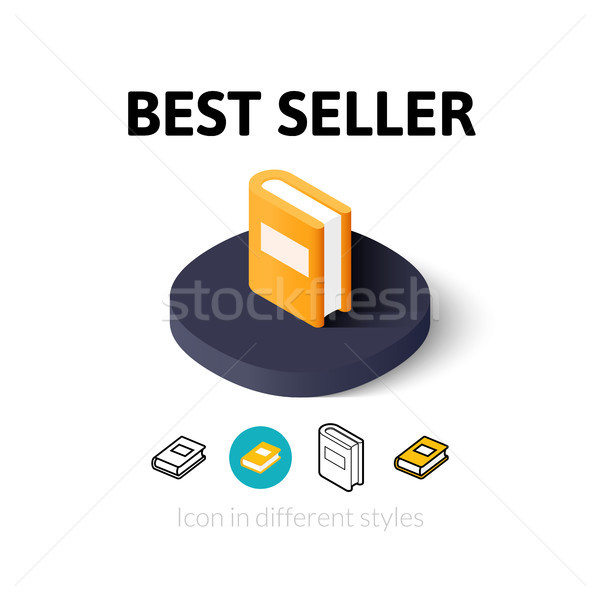 Best seller icon in different style Stock photo © sidmay