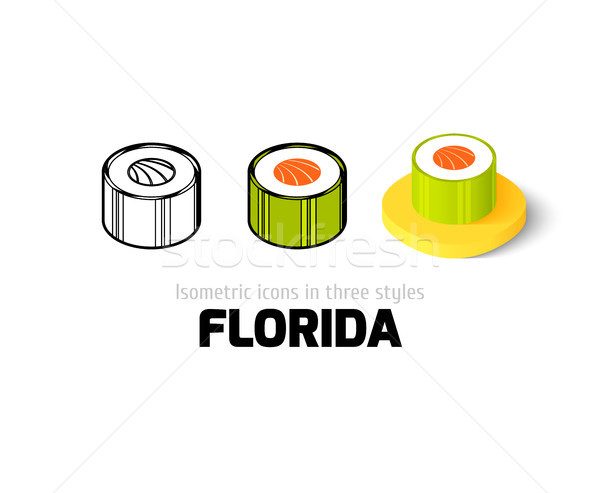 フロリダ アイコン 異なる スタイル ベクトル シンボル ストックフォト © sidmay