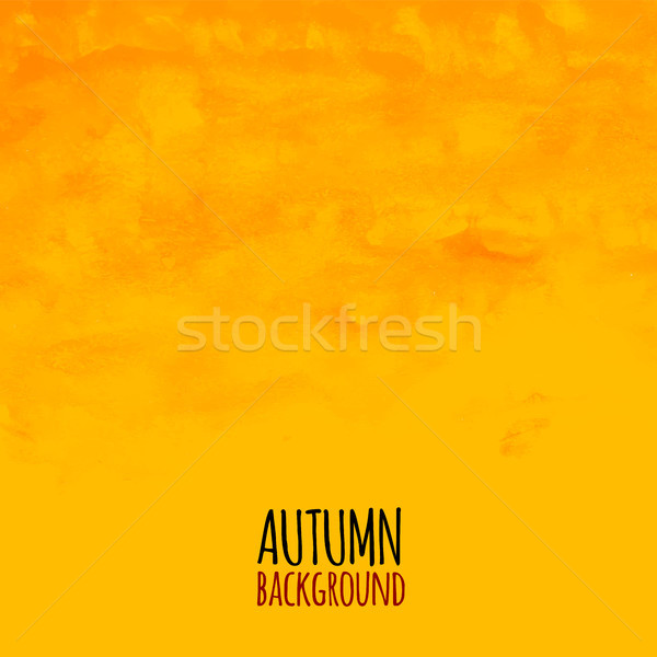 Watercolor striped radiant pattern, yellow orange and red colors Stock photo © sidmay