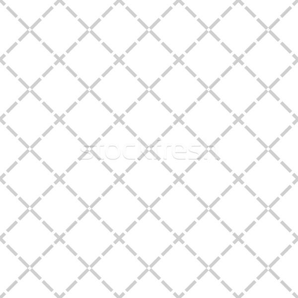 Einfache Muster Wiederholung geometrischen Stock foto © sidmay