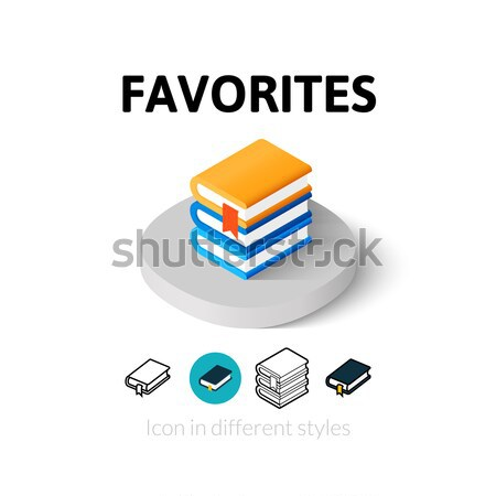 Stock photo: Ammunition icon in different style