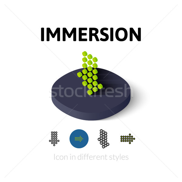 Icône différent style vecteur symbole Photo stock © sidmay