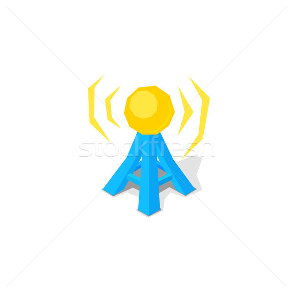 Wireless network and free remote access point spot Stock photo © sidmay