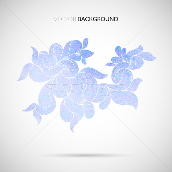 Stockfoto: Abstract · aquarel · geometrisch · patroon · water · golf
