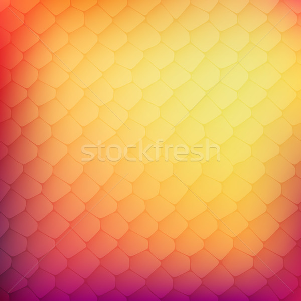 Abstract background of colored cells Stock photo © sidmay