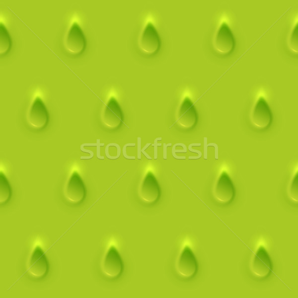 Seamless pattren, rain from relief texture 3d modelling clay drop Stock photo © sidmay