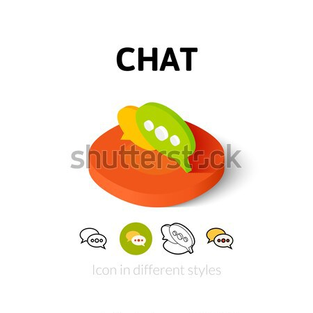 Refresh link icon in different style Stock photo © sidmay
