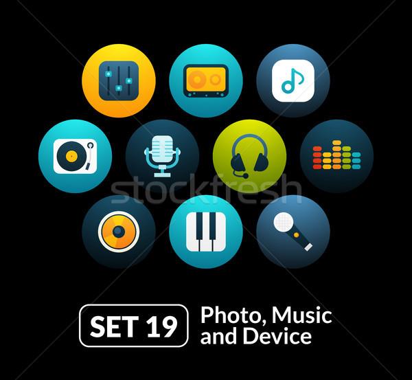 19 ses fotoğraf toplama telefon Stok fotoğraf © sidmay