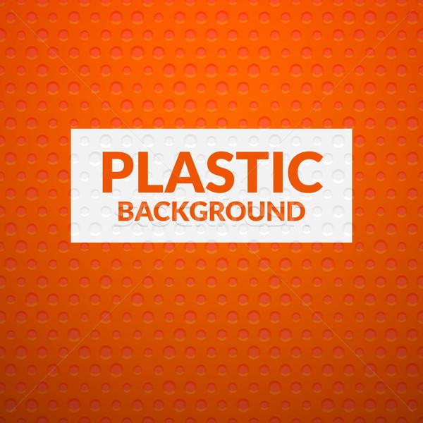 Kırmızı Metal plastik doku sanat endüstriyel Stok fotoğraf © sidmay