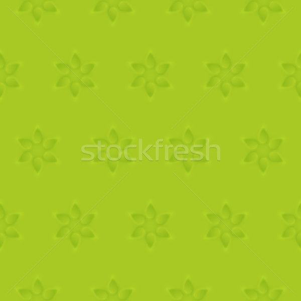 Relief texture seamless pattern of 3d modelling clay flower Stock photo © sidmay