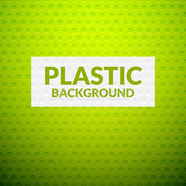 Yeşil Metal plastik doku sanat endüstriyel Stok fotoğraf © sidmay