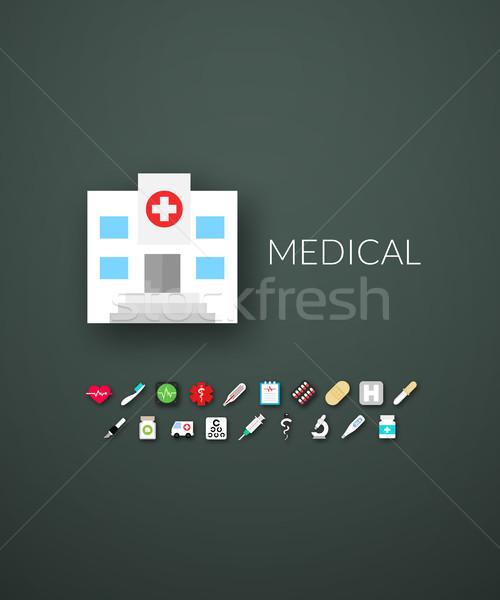 дизайна современных марка личности стиль веб Сток-фото © sidmay