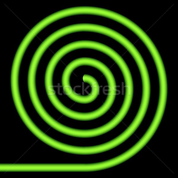 Green spiral. Stock photo © Silanti