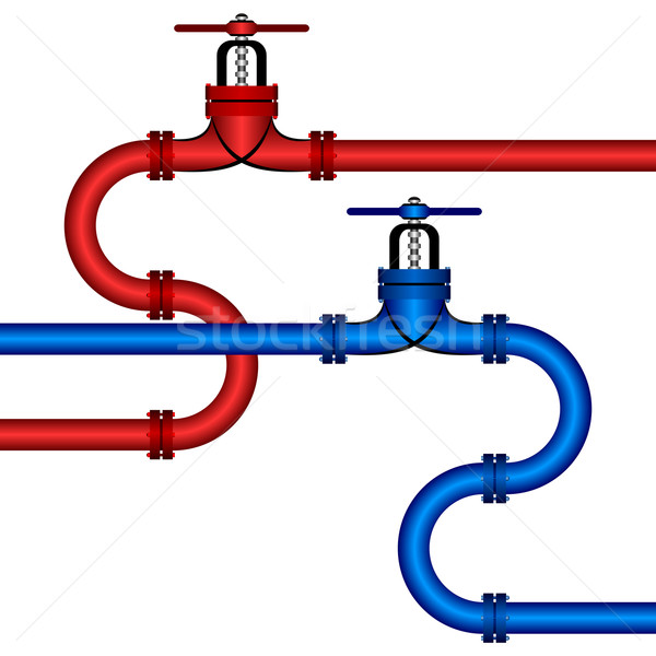 Different pipelines. Stock photo © Silanti