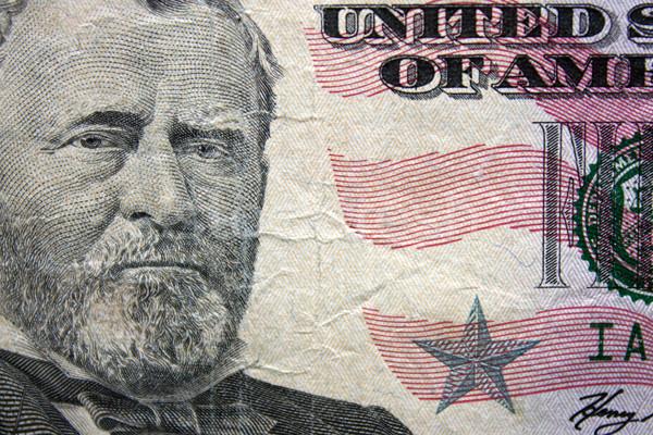 Fifty Dollar Banknote Stock photo © Silanti