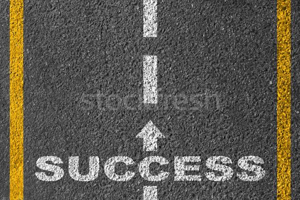 Road to success Stock photo © Silanti