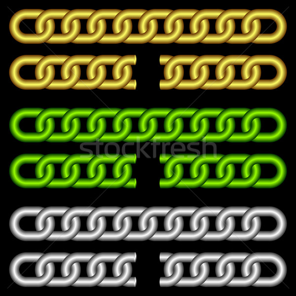 Different chains. Stock photo © Silanti
