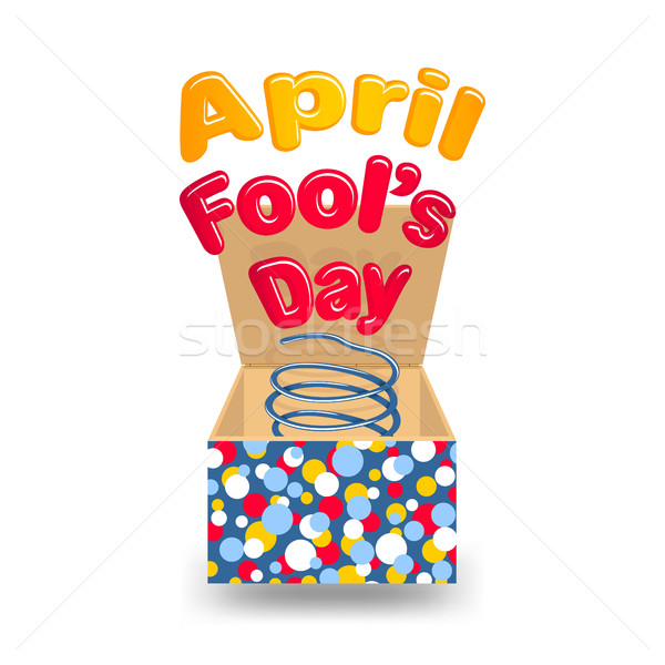 Stock photo: April Fool's Day
