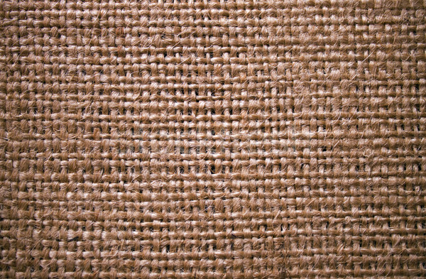 Jute textuur achtergrond touw textiel doek Stockfoto © Silanti