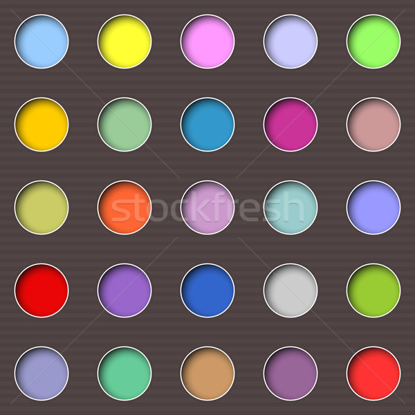 Abstract multicolored holes  Stock photo © Silanti