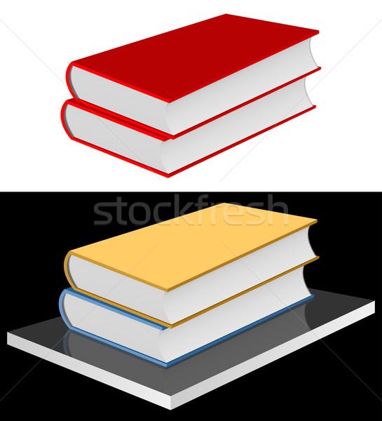 Books on the shelf. Stock photo © Silanti