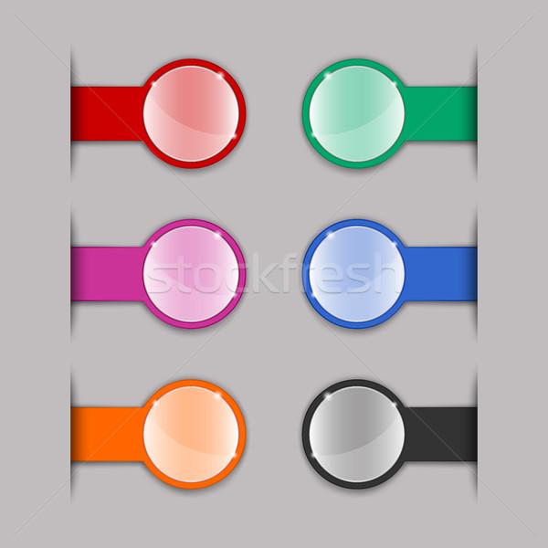 Color tabs  Stock photo © Silanti