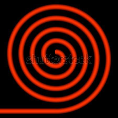 Yellow spiral. Stock photo © Silanti