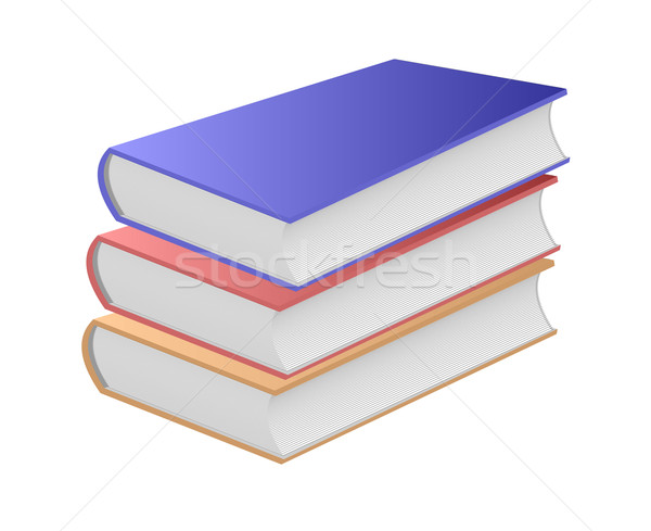 Three books. Stock photo © Silanti