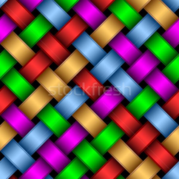 Multicolored ribbons. Stock photo © Silanti