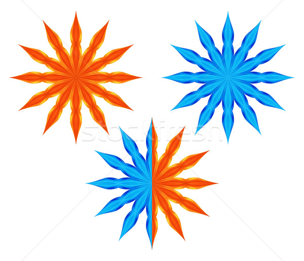Stylized star Stock photo © Silanti