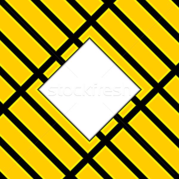 żółty streszczenie płyty czarny środkowy miejsce Zdjęcia stock © Silanti