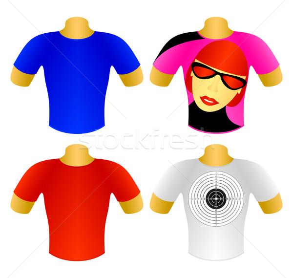 Set of T-shirts Stock photo © Silanti