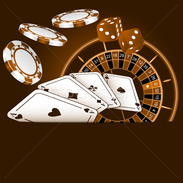 Composition on gamblings  Stock photo © Silanti
