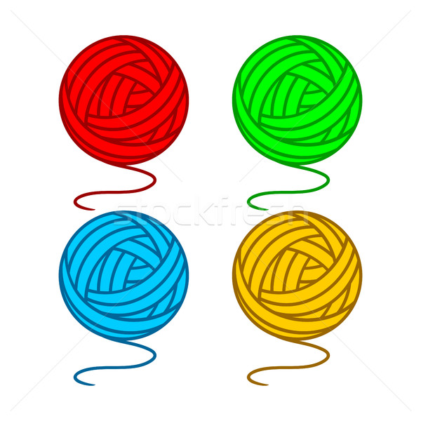 Balls of yarn  Stock photo © Silanti