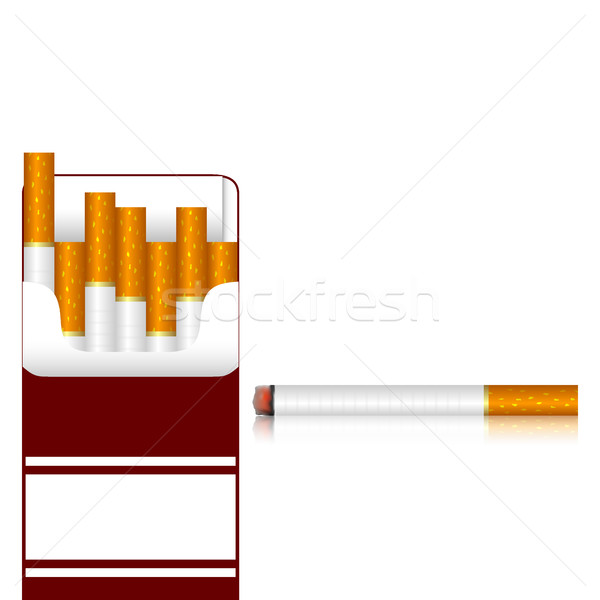 Carton of cigarettes  Stock photo © Silanti