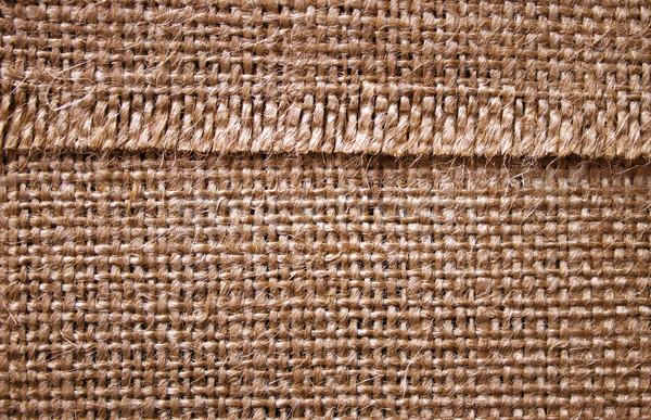 çuval bezi doku arka plan halat tekstil tuval Stok fotoğraf © Silanti