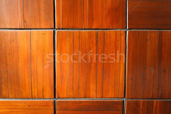 Sunlit Wooden Pattern Stock photo © silkenphotography