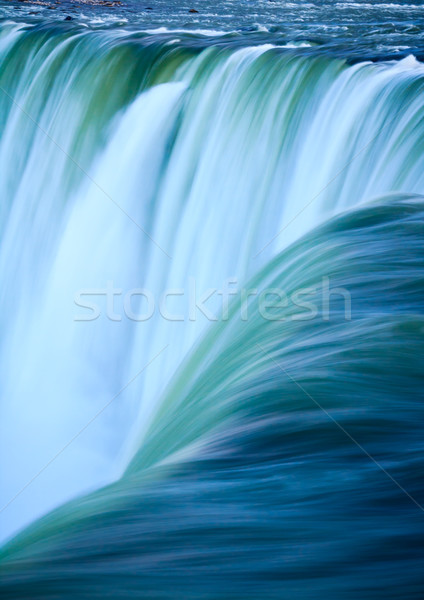 Water hoefijzer Niagara Falls waterval macht Stockfoto © silkenphotography