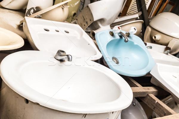 Bathroom sinks Stock photo © silkenphotography