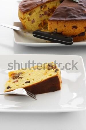 Meat Cake Slice Stock photo © simas2
