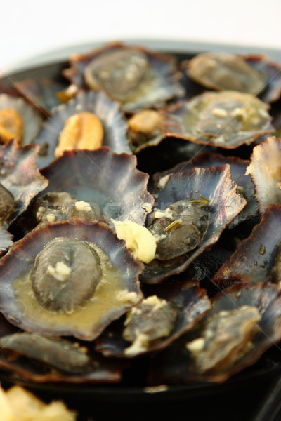 Grilled Limpets Stock photo © simas2