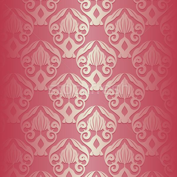 Floral Pattern Background Stock photo © simas2