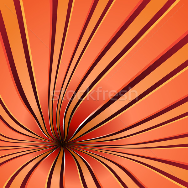 Red spiral background Stock photo © simas2
