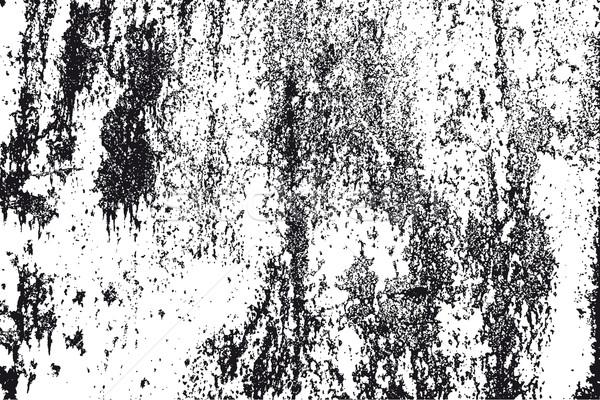 Blanco negro textura grunge vector detalle Rusty textura Foto stock © simas2
