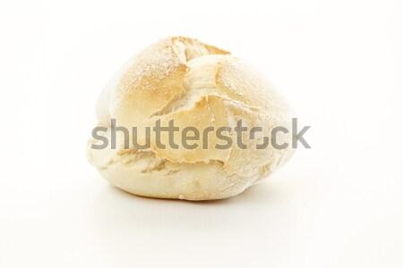 Taze ekmek beyaz beyaz ekmek Stok fotoğraf © simas2