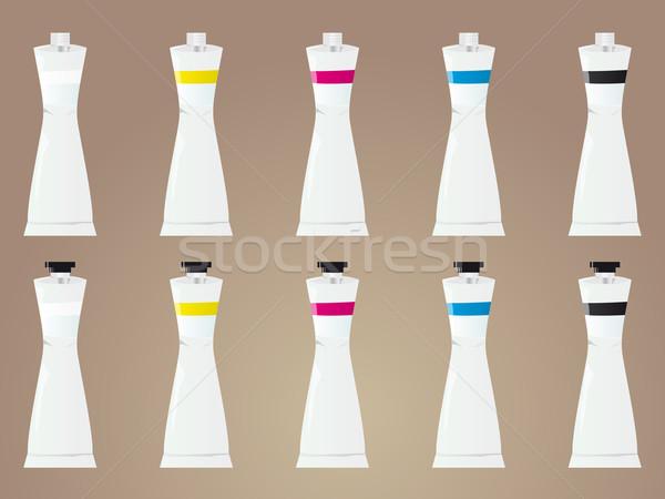 Guache paint tubes Stock photo © simas2
