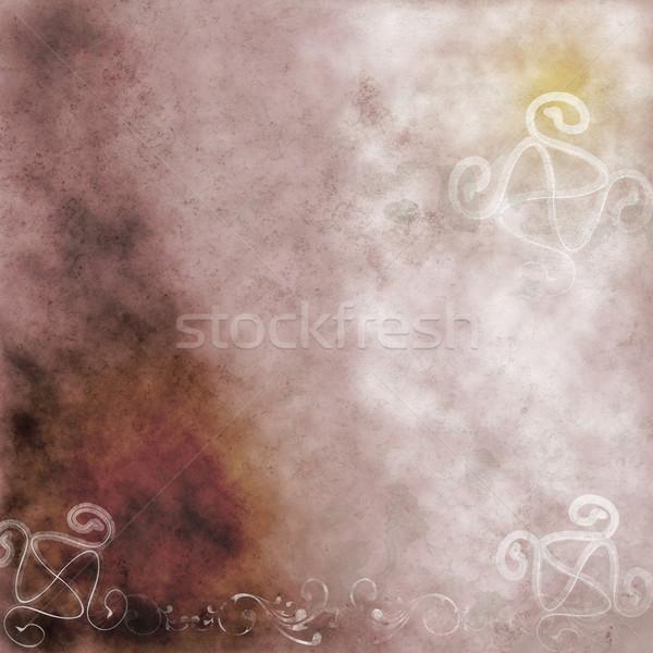 Soyut grunge elemanları kâğıt arka plan Stok fotoğraf © simas2