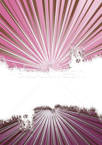 Pembe vektör grunge bo metin Stok fotoğraf © simas2