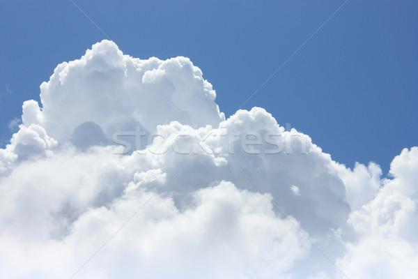 Mavi gökyüzü bulutlar güneş Stok fotoğraf © simas2