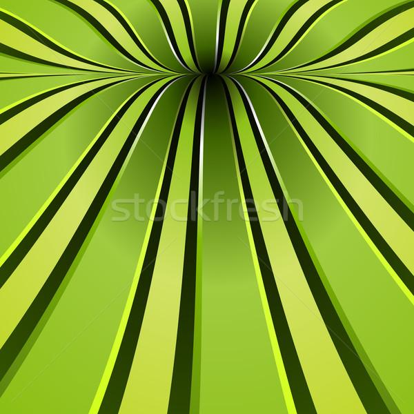 Green Spiral Background Stock photo © simas2